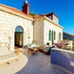 Villa Dubrovnik Entourage Upper terrace 1