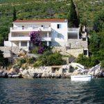 7. Вид на дом с моря